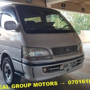 2003 Toyota Super Custom Van for Sale in Juba - South Sudan at a Cheap Prices - Seal Group Motors