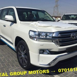Cheap 2018 Toyota Land Cruiser V8 for Sale at Good Prices in Juba - South Sudan - Seal Group Motors Car Bond