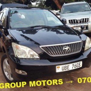 2009 Black Toyota Harrier for Sale at a cheap price in Juba, South Sudan - Seal Group Motors