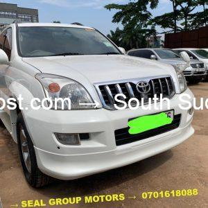 2006 Toyota Prado Short Chassis for sale in Juba, South Sudan at cheaper prices
